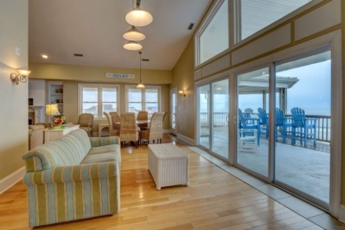 topsail island oceanfront vacation rental | SeaShore Realty