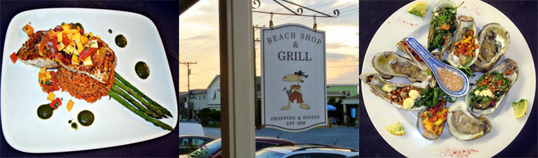 The Beach Shop and Grill