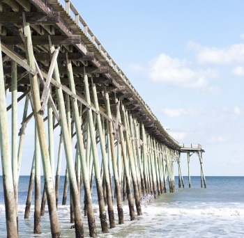The abcs of topsail island for Topsail fishing pier