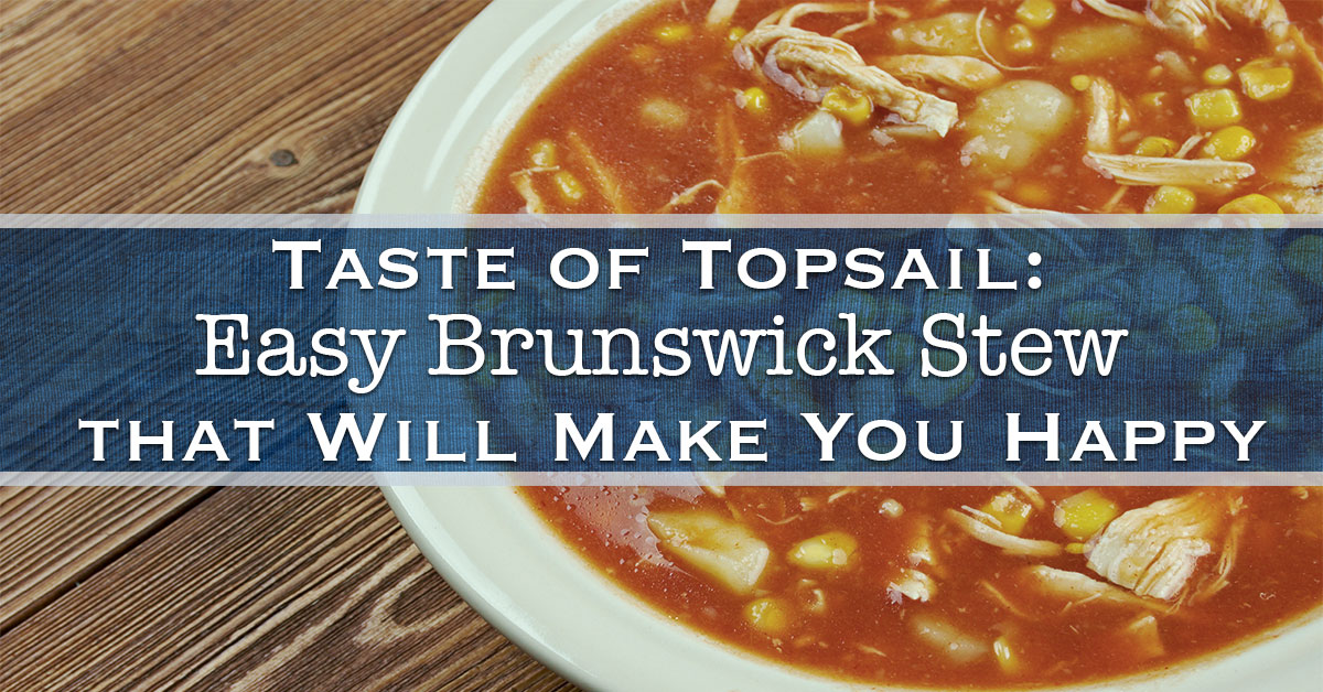 Easy Brunswick Stew that Will Make You Happy