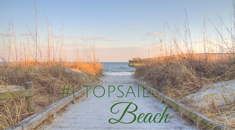 Spend a day on the beach in Topsail