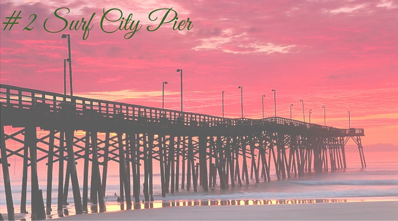 Surf City Pier on Topsail Island NC