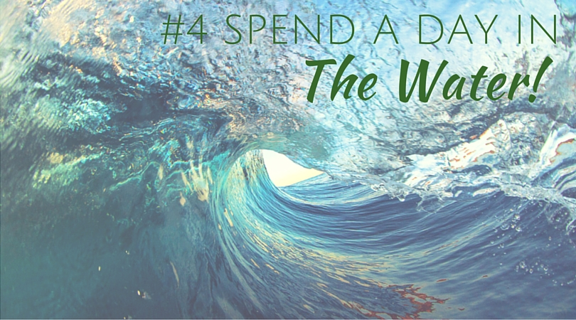 Spend a day in the waves