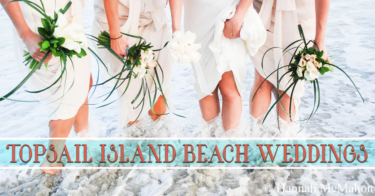 Topsail Island Beach Weddings