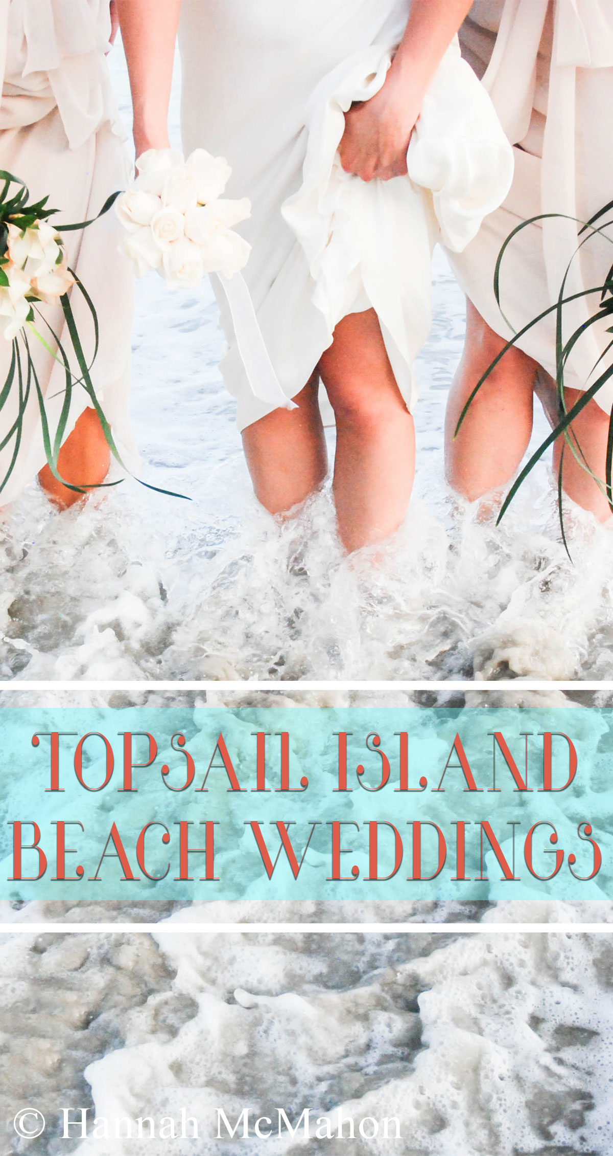Topsail Island Beach Weddings Pin