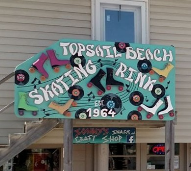 Topsail Beach Skating Rink | SeaShore Realty