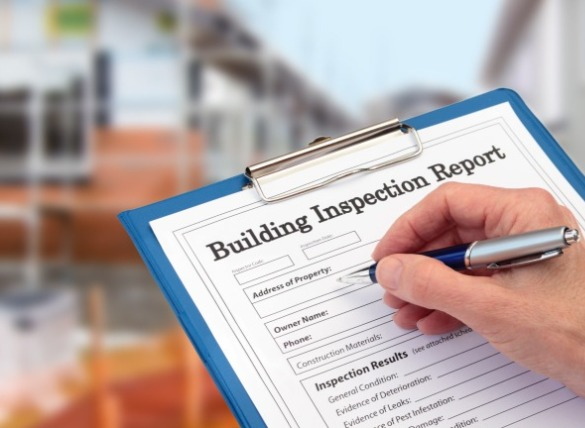 photo of building inspection report | SeaShore Realty