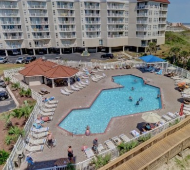 St. Regis outdoor swimming pool | SeaShore Realty