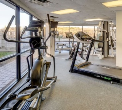 St. Regis fitness center | SeaShore Realty