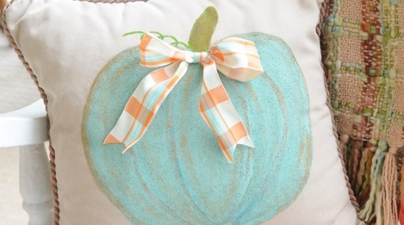 fall coastal themed pillow | SeaShore Realty