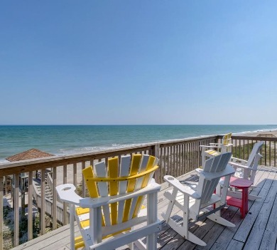 beach view from our rental 1274 New River Inlet Road  | SeaShore Realty